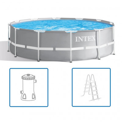 Piscines Intex Ensemble de piscine Prism Frame 366 x 99 cm 26716GN