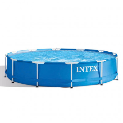 Piscines Intex Piscine Metal Frame 366 x 76 cm 28210NP