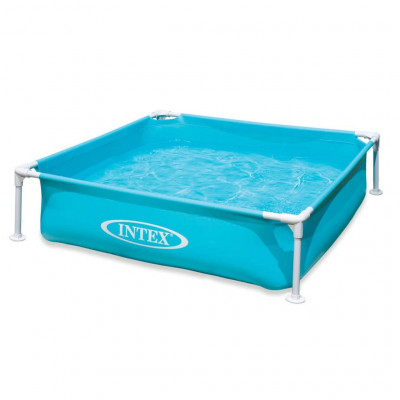 Piscines Intex Piscine hors sol Mini Frame 122 x 122 x 30 cm 57173NP