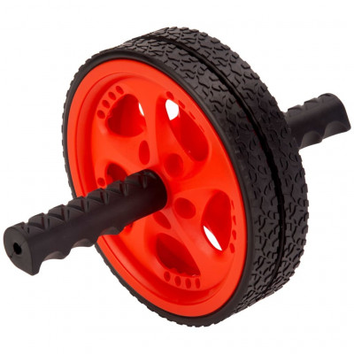 Roues & rollers abdominaux Pure2Improve Roue d'exercice Rouge