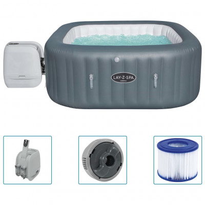 Spas Bestway Cuve thermale gonflable Lay-Z-Spa Hawaii HydroJet Pro