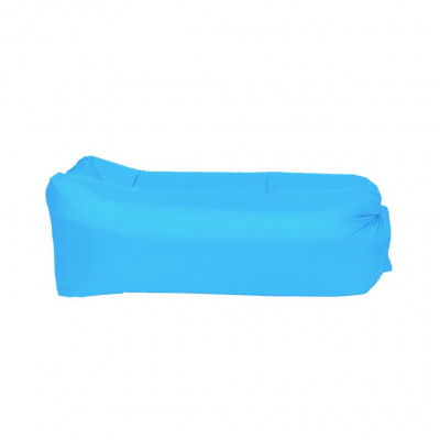 Matelas gonflables Happy People Matelas gonflable Lounger To Go 2.0 Bleu 100 kg