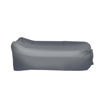 Matelas gonflables Happy People Matelas gonflable Lounger To Go 2.0 Gris 100 kg
