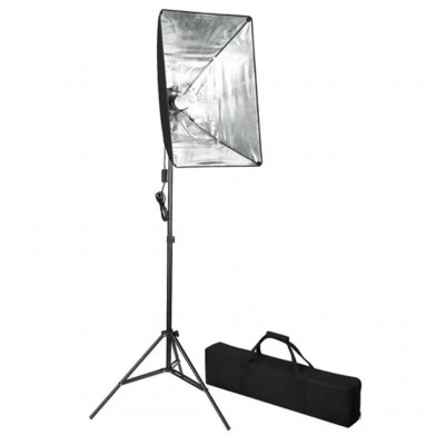Lampes studio & flashs Lampe de photo studio avec diffuseur softbox 60 x 40 cm