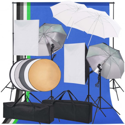 Lampes studio & flashs Kit d'éclairage de studio photo